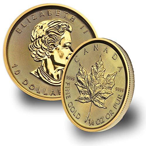 1979 CA -Present Canada 1/4oz Gold Maple Leaf (Random Year) $10 Brilliant Uncirculated