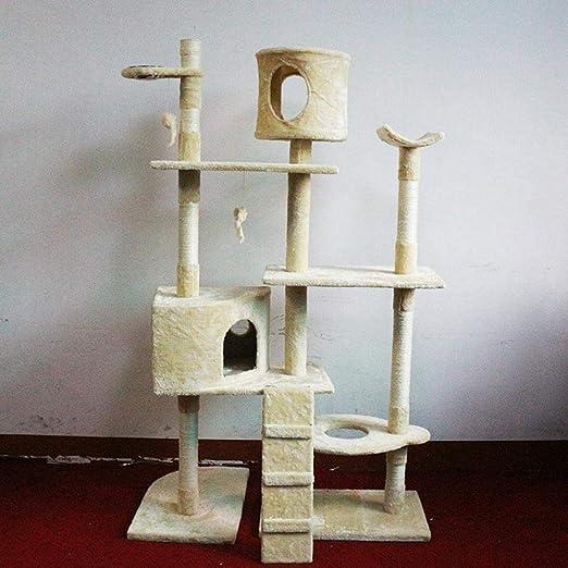 Fushenr Tabla de Juego para Gatos, Escalada, árbol, Gato, Gato ...