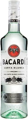 Bacardi Carta Blanca Ron - 700 ml: Amazon.es: Alimentación y ...