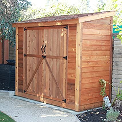 Genial SpaceSaver Wood Lean To Shed