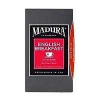 Madura English Breakfast 50 Tea Bags, 1 x 100 g