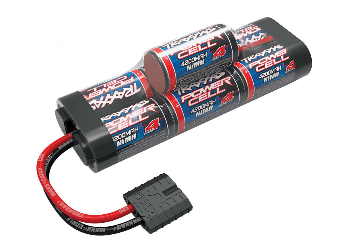 8.4V Battery Traxxas 2951X Series 4 4200mAh NiMH 7-Cell hump pack