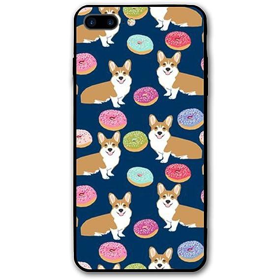san francisco d8826 217e2 Amazon.com: Cute Corgi IPhone 8 PLUS Cover Case Protective 5.5 ...