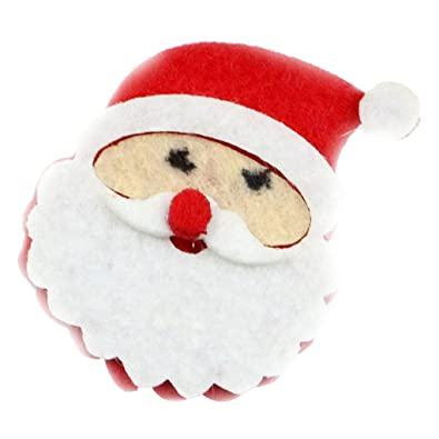 d1b9440c4d892 Buy MagiDeal Cute Cartoon Flannel Santa Claus Brooch Pins Badge ...
