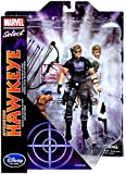 "Disney Marvel Marvel Select Avenging Hawkeye 7"" Action Figure"