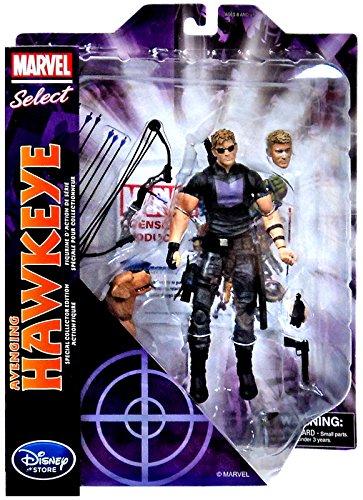 "Disney Marvel Marvel Select Avenging Hawkeye 7"" Action Figure"