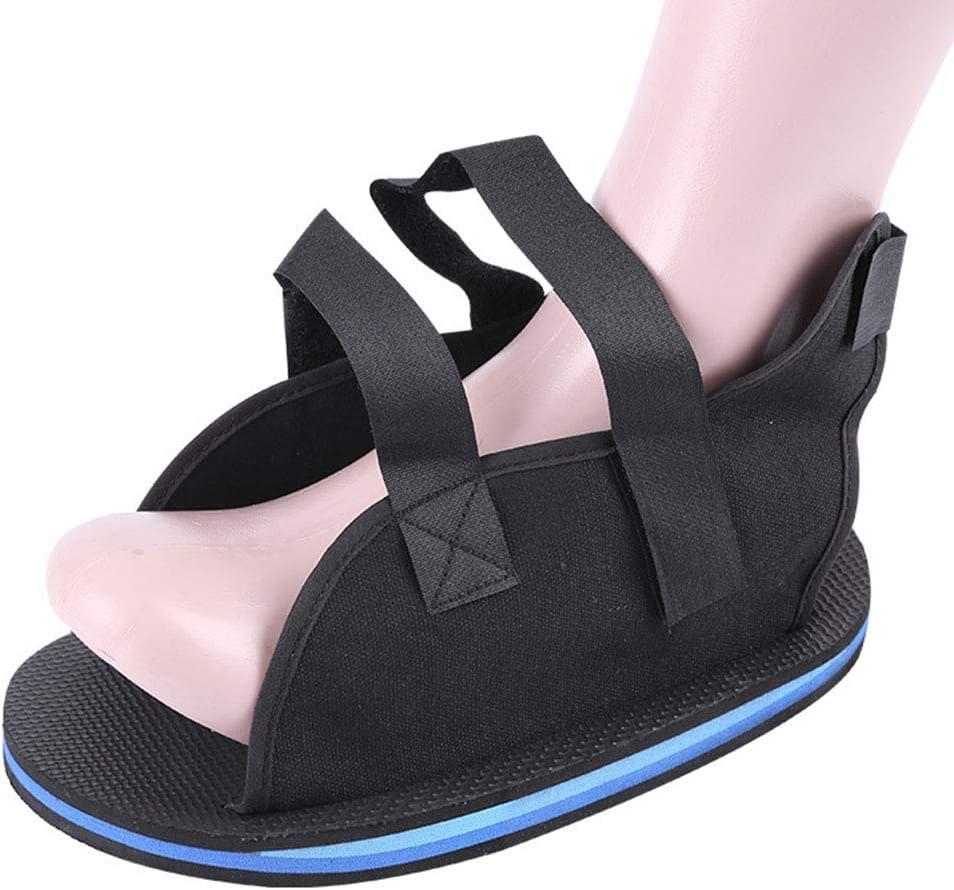 YOUGL Bota de fundición de Zapatos para Caminar, pie de Fractura de pie Zapato para Caminar, para Lesiones postoperatorias de pie quirúrgico, Hombres, recuperación de fracturas de Mujeres,L