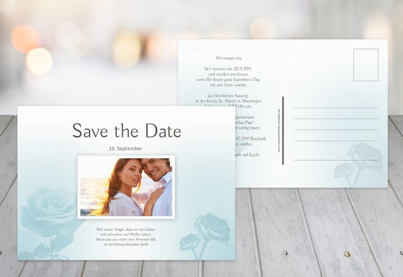 Kartenparadies Hochzeitskarte Save-the-Date Rosa, hochwertige Save the Date Karte zur Hochzeit   30 Karten - (Format  148x105 mm) Farbe  HellRosa B01MYAEKQ1 | Economy  | Ausgezeichnet (in) Qualität  | Einfach zu bedienen