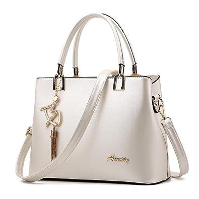 Sac à Main Sac à Bandoulière Simple Mode Messenger Bag , blanc
