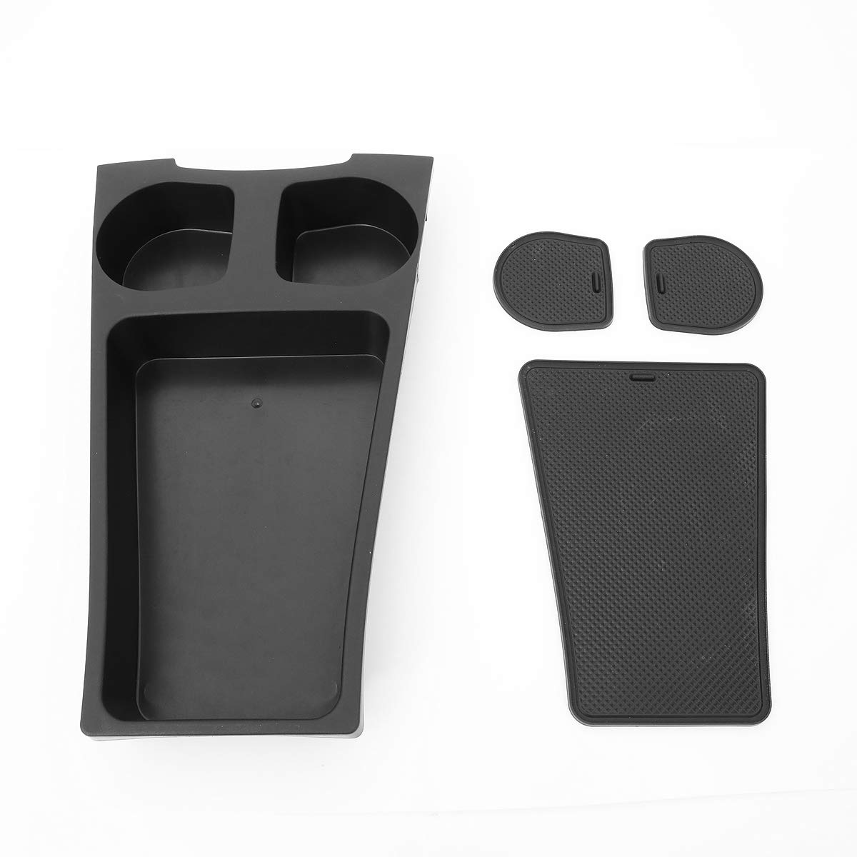 DNA MOTORING ZTL-Y-0069 Factory Style Center Console Organizer Storage Box Cup Holder Replacement