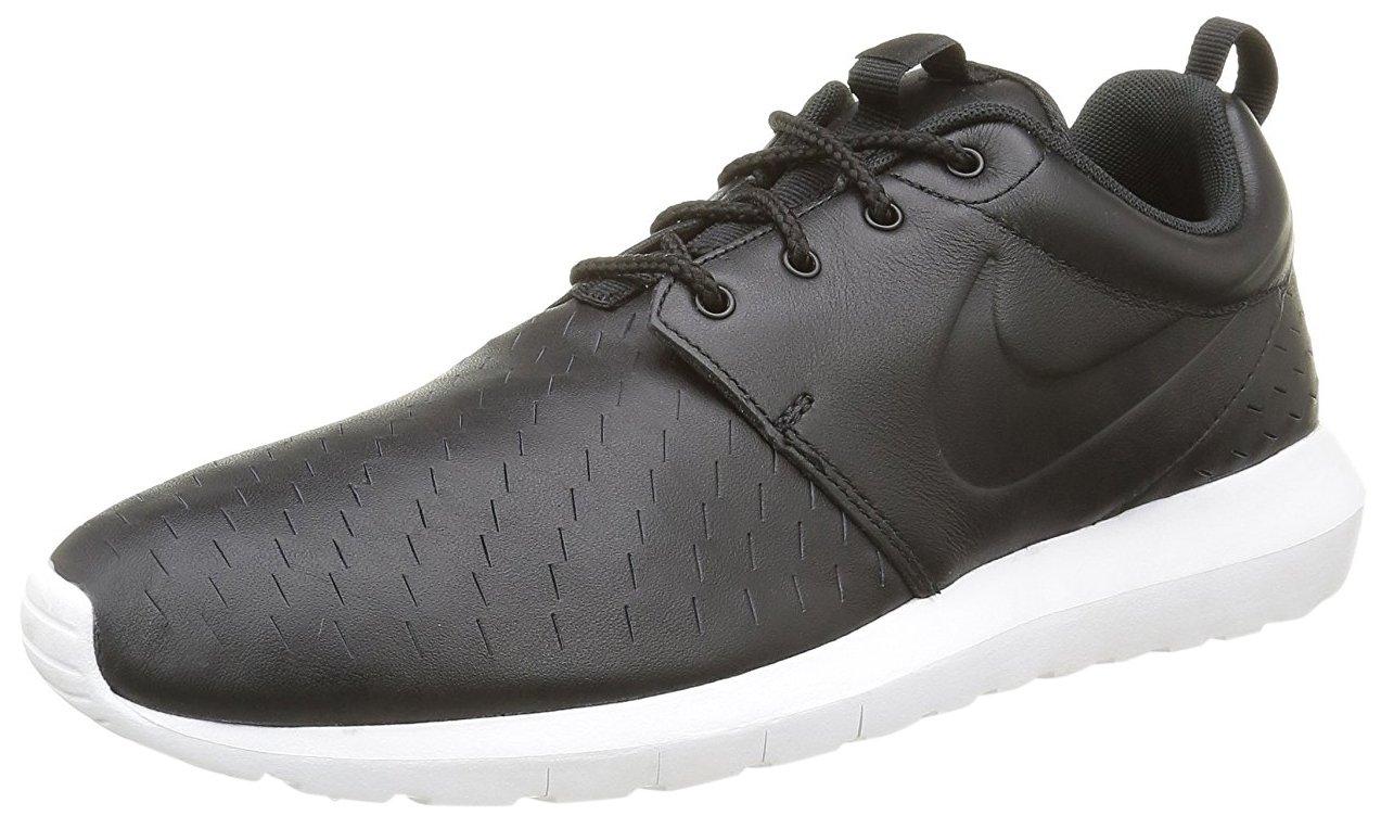 Nike Herren Roshe NM LSR Laufschuhe  43 EU|Schwarz (Black/Black/Whiteblack/Black/White)