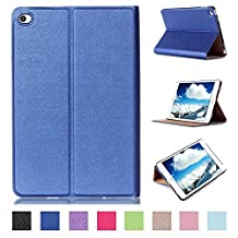Tsmine iPad Pro 9.7 Origami Slim Case - Ultrathin Magnetic Folio Stand Smart [ Automatic Wake / Sleep Feature ] Premium Case Cover For Apple iPad Pro 9.7 inch Tablet, Blue