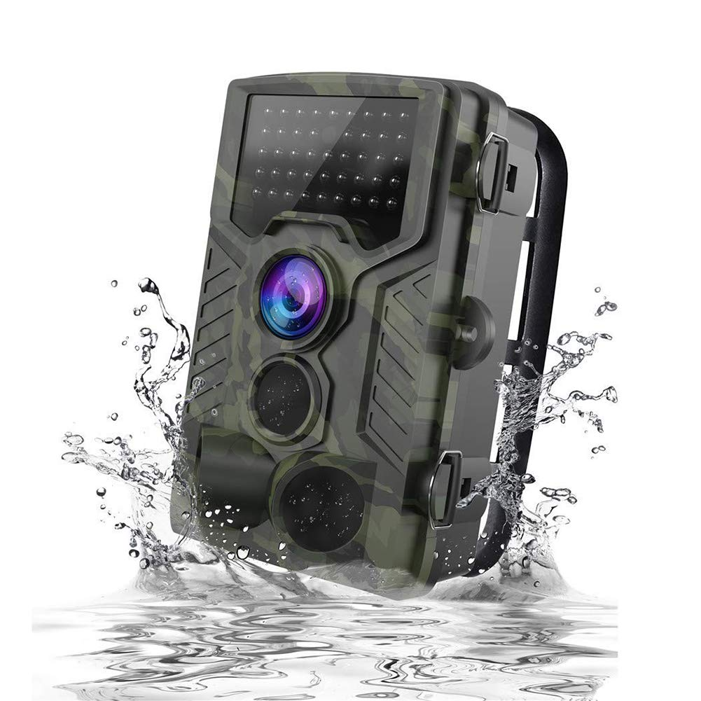 RONSHIN 1080P HD Wildlife Trail Hunting Camera with Motion Activated Night Vision 120¡ã Wide Angle Lens IP65 Waterproof Wildlife Scouting Camera Electronics etc etcselectronic by RONSHIN