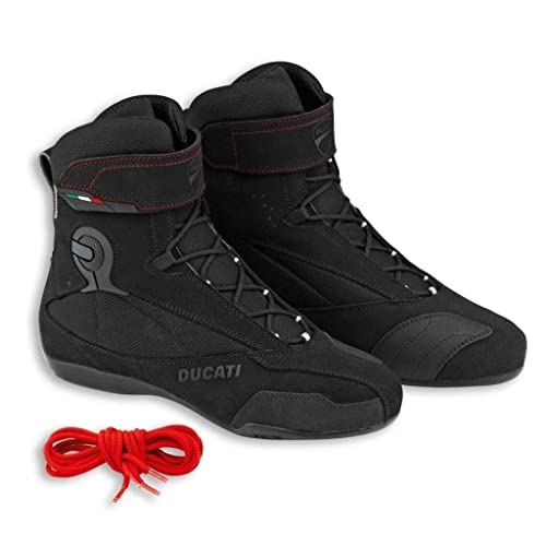 014fecdf1d802 Ducati Company 2 Motorcycle Technical Riding Boots Black