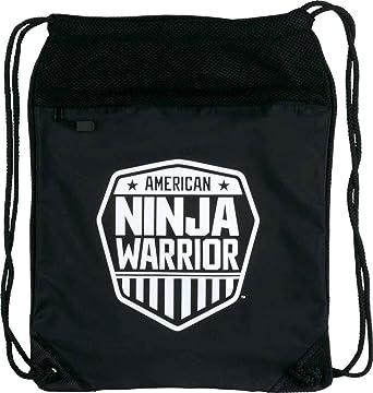 Amazon.com: American Ninja Warrior mochila de Cinch negro ...