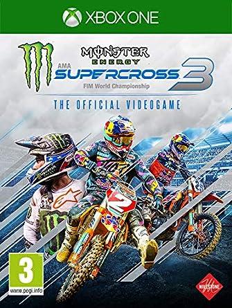 Monster Energy Supercross - The Official Videogame 3 - Xbox One [Importación inglesa]: Amazon.es: Videojuegos