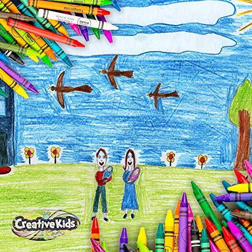 Creative Kids Bulk Classroom Crayons – 36 Packs of 24 Bright, Vibrant Wax Coloring Crayons for Preschool, Kindergarten, Elementary School & Art Class Teachers – ASTM Certified Non Toxic by Creative Kids (Image #4)
