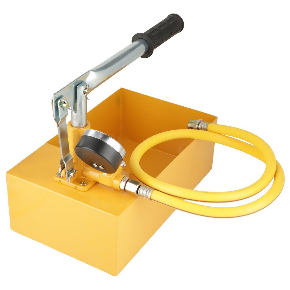 Test Pump, Acogedor Water Pressure Test Pump - Water Pipe Line Installation Heating System Water Leakage Pressure Tester Pump, Manual Push Testing Hand Tool