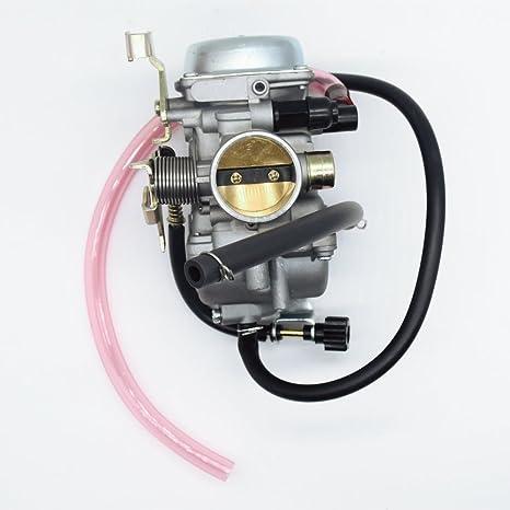 amazon com: carbman carburetor carb for kawasaki klf 300 klf300 bayou 1986- 1995 1996-2005 kawasaki carb atv carburetor: automotive