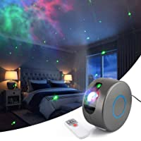 Langguth Led-projector, sterrenhemel projector met afstandsbediening, nachtlampje, Nebula effect projectielamp