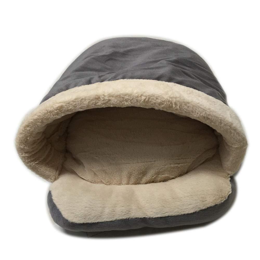 Brown Pet Supplies Thick Cat Sleeping Bag Cat Litter Pet Nest Small Pet Kennel