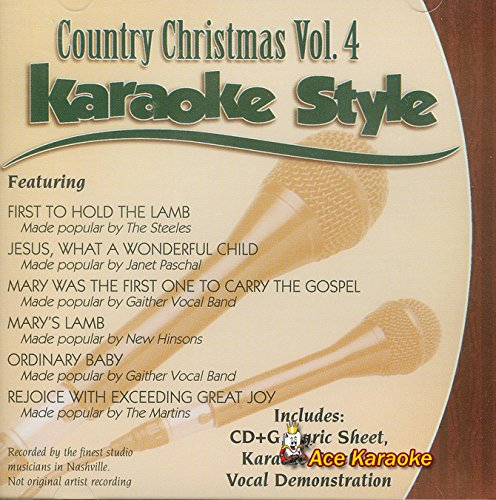 Daywind Karaoke Style: Country Christmas, Vol. 4