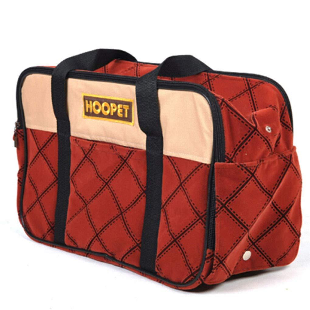 2 Pet bag Out Portable Bag cage cat Dog Takeout Bag Handbag Breathable Bag cat Backpack Messenger Bag Travel Bag