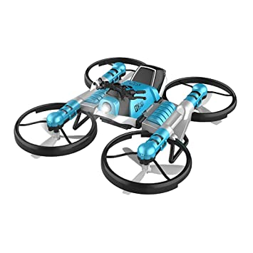 TwoCC Drone,2 En 1 Quadcopter Plegable Motocicleta Deformada Único ...