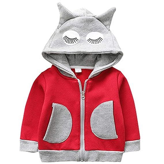 f6bb179f9 ZOEREA Baby Unisex Hoodies Jacket Boy Girl Cartoon Long Sleeve ...