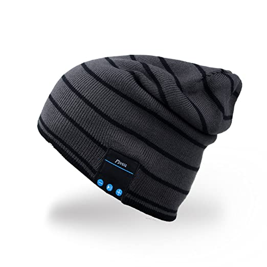 102 opinioni per Rotibox Cappello Beanie Bluetooth, Cappellino Trendy Knit Short Trendy con