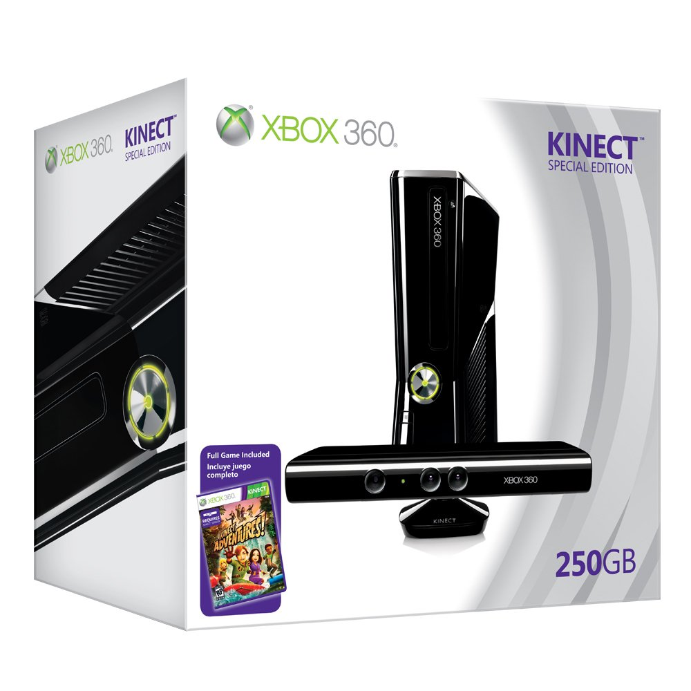 Xbox 360 250GB Console with Kinect by Microsoft (Image #3)