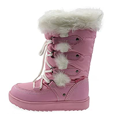 Amazon.com | Orgrimmar Girls Warm Wool Waterproof Snow Boots | Boots