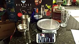 Perfect drink smart scale and app kitchen tool for Cocktail app and scales