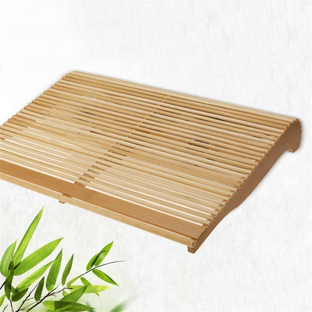 KIMIBen Laptop Cooling Pad Bamboo Wooden Notebook Radiator Exhaust Base 17 Inch Computer Radiator Led Fan Base