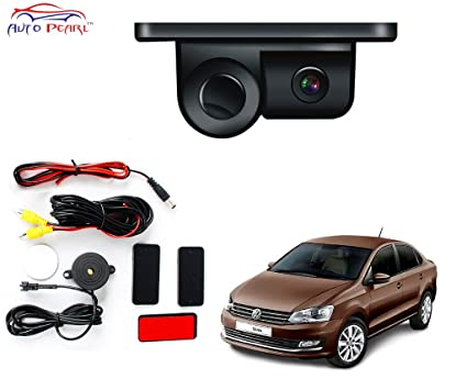 Auto Pearl- 2 in 1 Indicator Sound Alarm Car Reverse Parking Sensor camera  with CCD LED Night Vision - Volkswagen Vento  Amazon.in  Car   Motorbike 52a6054a9a
