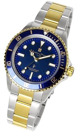 6516dcf1dd [サルバトーレマーラ]Salvatore Marra 腕時計 メンズ 電波ソーラー 当店限定 ダイバーズウォッチ 電波 ソーラー