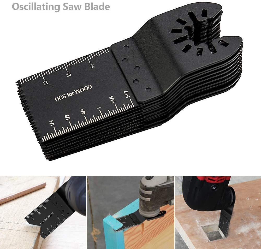 10Pcs Oscillating Multi Tool 35mm Saw Blades Fit For Porter Cable Multitool