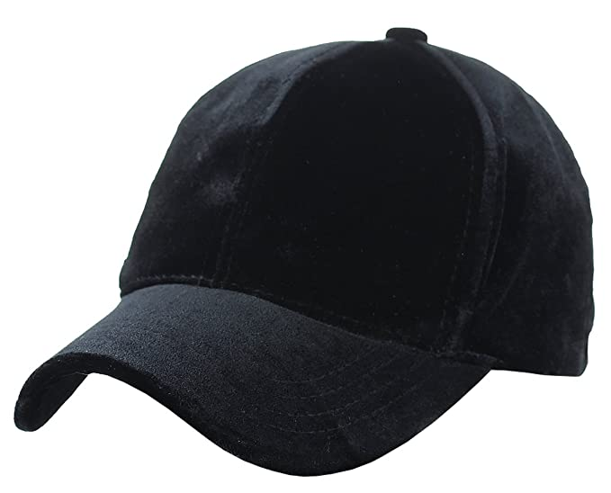 9b7f6346236 C.C Unisex Soft Velvet Crushable Blank Adjustable Baseball Cap Hat ...