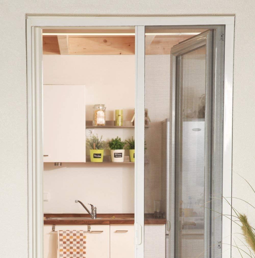 Mosquitero para Puerta – Estor (aluminio montar 160 x 220 cm en ...