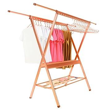 Amazon.com: GENE Aluminum Clothes Laundry Drying Rack Heavy Duty ...