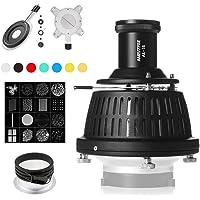 AMBITFUL AL-16 Profoto montaje óptico Focalize Condensador de haz de luz cilindro óptico Focalize Art Fotografía…