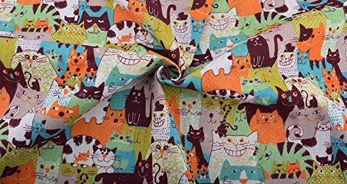 Tela gato hipster por metros 1 unidad es 50 cm. x 1.50 m.cortinas ...