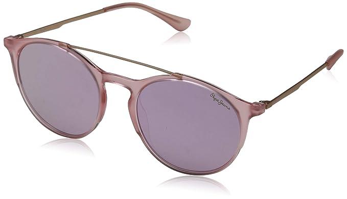 Pepe Jeans Ansley Gafas de Sol, Rosa (Pink/Grey), 53.0 ...