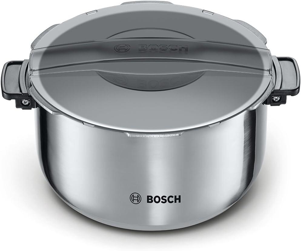 Bosch MAZ8BI Accesorio olla, 5 litros, Inoxidable, Acero y negro: Amazon.es: Hogar