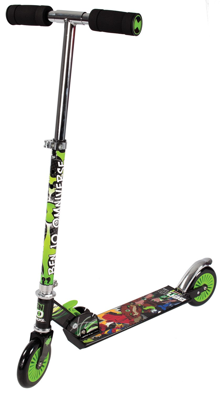ben 10 omniverse folding in line scooter amazon co uk toys u0026 games