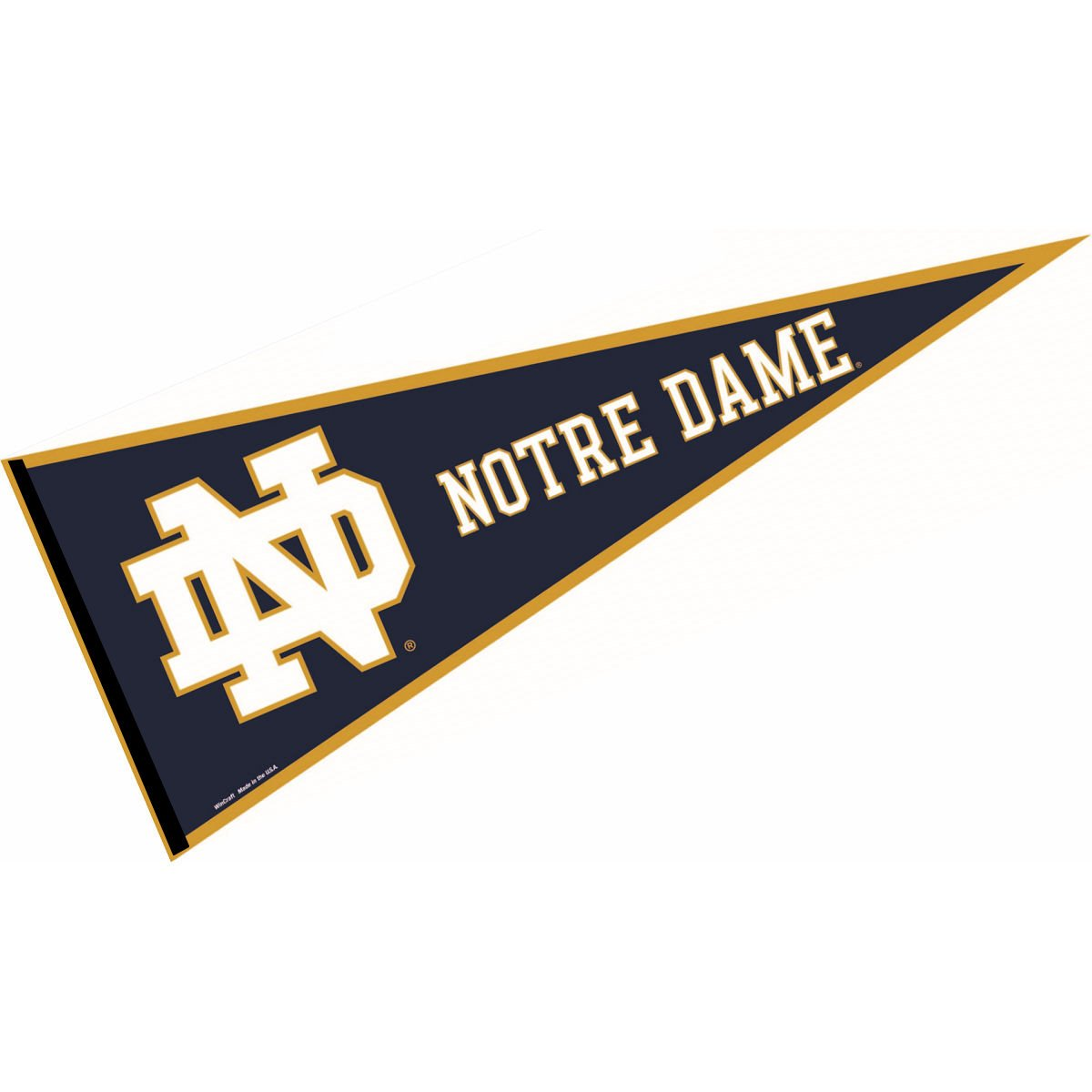 Amazon.com : Notre Dame Pennant Full Size Felt : Sports & Outdoors