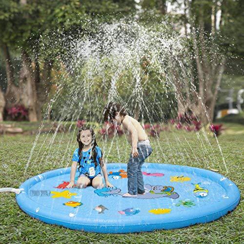 Sprinkler for Kids, Sprinkler Pad & Splash Play Mat 68