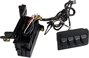 Tepeng Dash Upfitter Switch Auxiliary Compatible with 2011-2016 Ford Super Duty F-250 F-350 F-450 F-550,Replace Part Number BC3Z-14A303-B