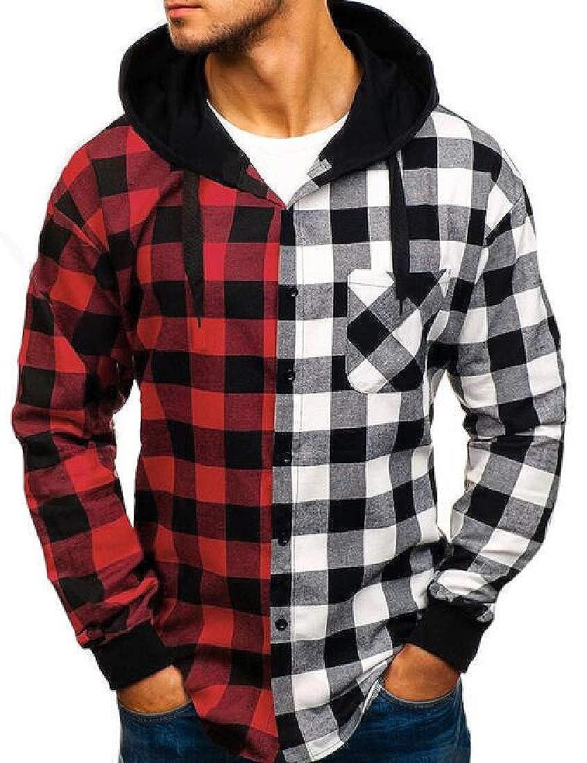 pipigo Mens Fashion Stand Collar Warm Quarter Zipper Pullover Knitted Sweater