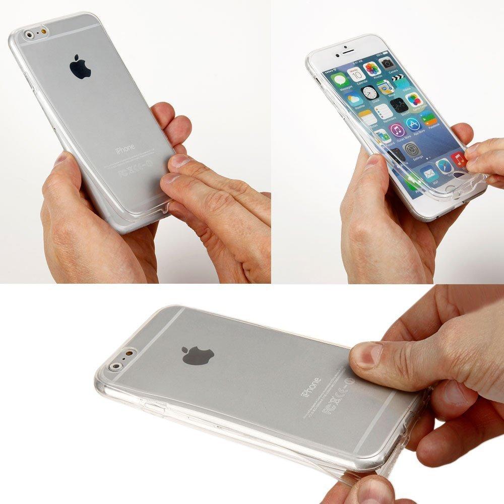 Sycode Galaxy S7 Edge 360 Gradi Custodia,Gradiente Colore Morbido 2 in 1 Anteriore E Posteriore Trasparente Custodia Cover per Samsung Galaxy S7 Edge-Blu Viola